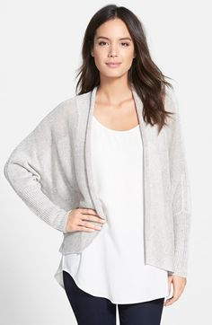 Eileen+Fisher+Linen+Batwing+Sleeve+Cardigan+available+at+#Nordstrom