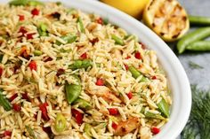 Grilled Chicken and Lemon Orzo Salad | The Pioneer Woman