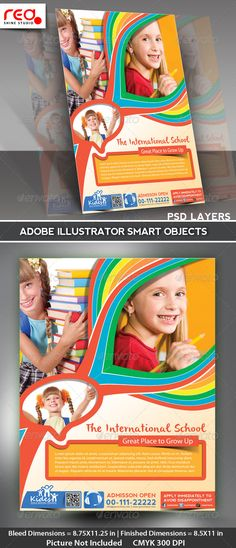 Kid's+School+Promotion+Flyer+Poster+Template