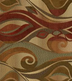 Upholstery Fabric-Richloom Provocative Spice, , hi-res Joanns love the pattern not the colors
