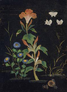 Shin Saimdang [신사임당] (1504-1551) - Painting of Insects and Grass No. 2 [초충도]