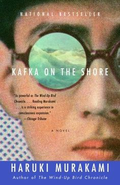 Kafka on the Shore - US paperback design by John Gall!