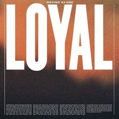 Moving As One by LOYAL on SoundCloud