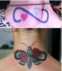 1000 images about tattoo coverups on pinterest tattoo for Infinity sign tattoo cover up