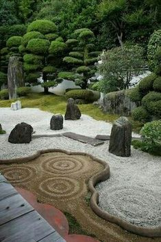 In case you are interested in the way to create a Japanese garden, it can readily be carried out in your backyard. A Japanese garden isn't an exercise. Zen Rock Garden, Zen Garden Design, Japanese Garden Design, Dream Garden, Landscape Design, Japanese Gardens, Zen Design, Japanese Plants, Modern Design
