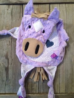 Horse Tag Blanket by TiedByTi on Etsy, $35.00