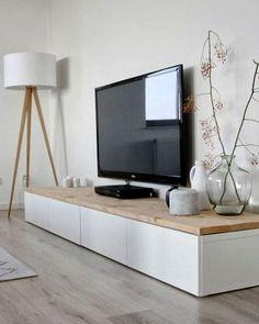 houten tv kastje