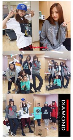 Apink for diamond supply
