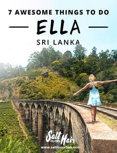 ELLA SRI LANKA 7 Awesome Things To Do in Ella is part of Ella sri lanka - The favorite stop of every traveler is Ella, Sri Lanka Surrounded by the beautiful greens of tea These are the things to do in Ella Cool Places To Visit, Places To Travel, Travel Destinations, Travel Guides, Travel Tips, Budget Travel, Travel Articles, Sri Lanka Vacation, Ella Sri Lanka