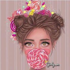 girly_m friends in school Girl M, Art Girl, Girl Cartoon, Cartoon Art, Girly M Instagram, Sarra Art, Girly Drawings, Arte Pop, Female Art