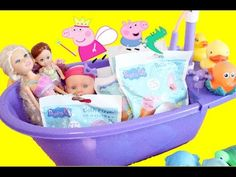 Peppa Pig Bath Bomb Fizzers Balls and Sparkle Girlz bath time