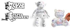 Waterproof teddybear you can write on like paper. good for a leaving do (or somebody in a fully body cast!)