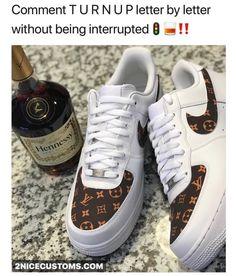 Custom lv air force 1 low white k i c k s . в 2019 г. nike s Custom Sneakers, Custom Shoes, Sneakers Looks, Shoes Sneakers, Nike Shoe Store, Mens Fashion Shoes, Nba Fashion, Fresh Shoes, Hype Shoes