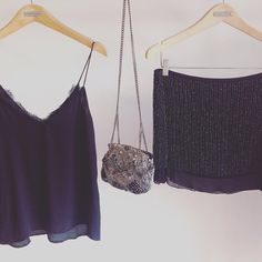FRIDAY NIGHT, TIME TO SHINE ✨ Shop this complete outfit in our eshop: lace caraco, full beaded skirt and the unique beaded clutch. You'll be georgous  #outfit #handmade #beads #fashion #black #umaandleopold #style #boho #chic #goingout #party #evening #display #store #bali