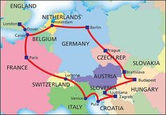 Popular Backpacking Europe Routes and Trip Ideas