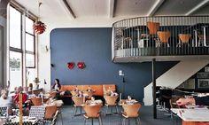 bistro bellevue by Arne Jacobsen