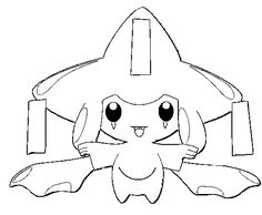 jirachi pokemon drawings | Jirachi