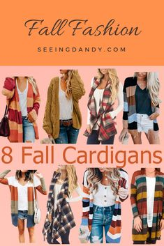 8 Must Have Trendy Fall Cardigans Fall fashion! These are the best fall cardigans that are the perfect mom style. Outfits Fo, Cardigan Outfits, Winter Outfits, Fashion 2020, Style Fashion, Womens Fashion, Fashion Tips, Autumn Winter Fashion, Autumn Fashion