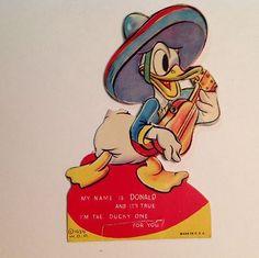Disney's Donald Duck Valentine