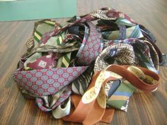 Neckties for the quilt