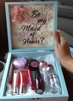 This is a cute gift idea even for purposes other than maid of honor.                This is cute Molly!!