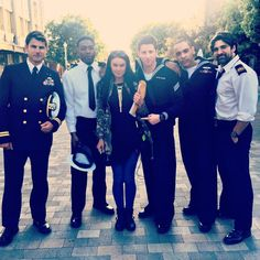 The Last Ship cast The Last Ship, Kawaii Girl Drawings, Bridget Regan, Military Girl, Animal Projects, Us Navy, Favorite Tv Shows, Behind The Scenes, Eye Candy