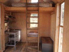 kitchen, loft bed