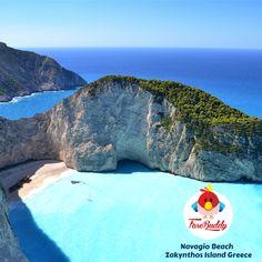 #NavagioBeach  #ZakynthosIsland Greece  The Most Beautiful Beach of the #Greece