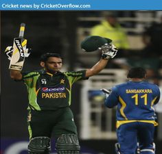 Mohammad Hafeez lead pakistan to a traffic win against Sri Lanka