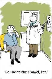 Funny recall postcard | MBS Communications Optometry