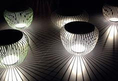 Milano Euroluce 2013: Light stools by Vibia