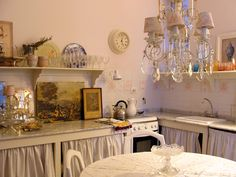 Bajo mesada cortina cuadrille cortinas de tela pinterest for Casa musica microcentro