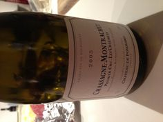 Cru de Chassagne Montrachet Les Chaumees - Chateau de Pommard - 2005 Perfectly aged burgundy from one amazing producer - surprisingly fruity Burgundy, Wine, My Favorite Things, Drinks, Bottle, Amazing, Places, Food, Drinking