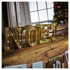 Tesco! Light up Noel Christmas Sign