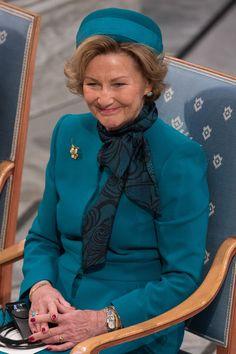 zimbio:  Nobel Peace Prize Ceremony, Oslo, Norway, December 10, 2015-Queen Sonja