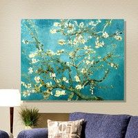 I think you'll like canvas painting wall picture Van gogh apricot flowers canvas art home decor Morden Huge Pictures Canvas Only. Add it to your wishlist!  http://www.wish.com/geek/m/c/54a7e85824db577a60ae7d9e