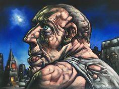Peter Howson, Buster, Pastel | Scottish Contemporary Art Peter Howson, Dundee, Contemporary Art, Art Gallery, Artist, Pastel, Art Museum, Cake, Artists