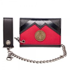Buy Wallmart.win Assassins Creed PU Chain Wallet: Vendor: Assassins Creed Type: Price: 20.00 Product Details: •    3 Vertical Card Slots •…