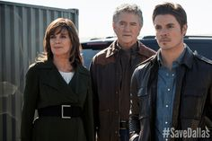 """""""Dallas"""" fans are fighting to #SaveDallas. Share this pin and let everyone know you love the show!"""
