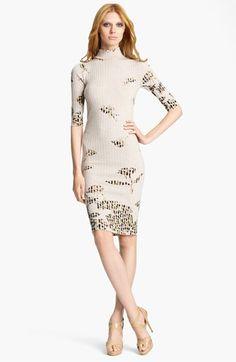 Blumarine Rib Knit Dress available at Nordstrom