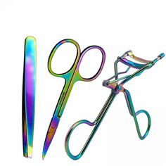 Trend Mark 5 Beauty Girl Lady Women Scissor Comb Eyelash Tool Eyebrow Shear Groom Eye Brow Trimmer Cosmetic Makeup Hair Trim Hand Tools Scissors