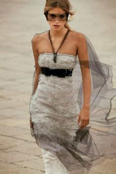 Elisa Sednaoui in Chanel Haute Couture Fall 2011