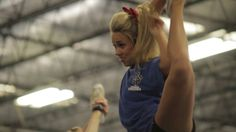 The Cheer Athletics Panthers prepare for the 2013 MAJORS by The JAM Brands