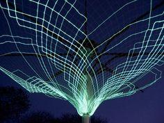 sustainable design, green design, sonumbra, solar tree, lighting, london design festival, solar power tree, lighting installation, eco art