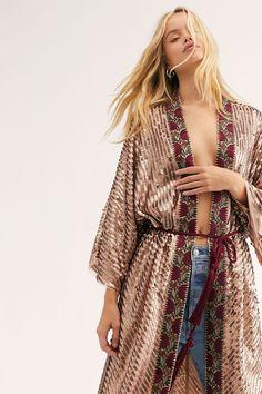 Kimono Fashion, Boho Fashion, Punk Fashion, Lolita Fashion, Boho Kimono, Kimono Style, Gothic Fashion, Fashion Art, Bohemian Style
