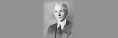 Henry Ford founder of the Ford Motor Company.