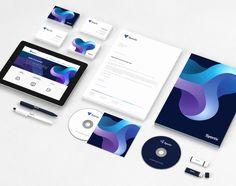 Syonix Branding Stationery #branding #visualidentity #logodesign #stationery #businesscards