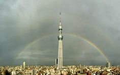 Tokyo Skytree & Rainbow