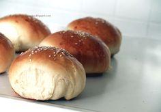 Arabafelice in cucina!: Panini morbidissimi da hamburger, ed un augurio speciale