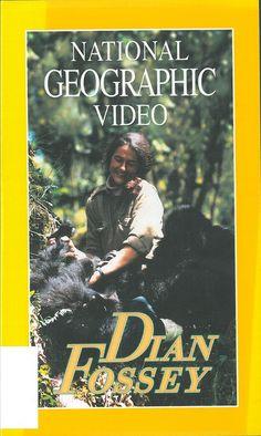 DIAN FOSSEY. A primeira vez que Dian Fossey viaxou a Africa foi en 1963, nun safari para turistas. Co apoio de Louis Leakey e de National Geographic consagrouse ao estudo do gorila de montaña africano, un difícil labor polo que foi recoñecida internacionalmente.DVD-T-43